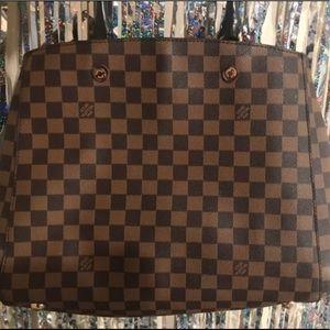 Louis Vuitton purse • Brown Handbag/purse